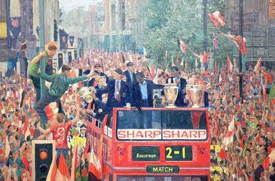 Pip Todd-Warmoth, 'Man United Treble Parade 1999', 2021