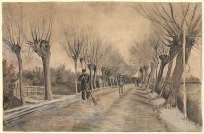 Vincent van Gogh, 'Road in Etten', 1881