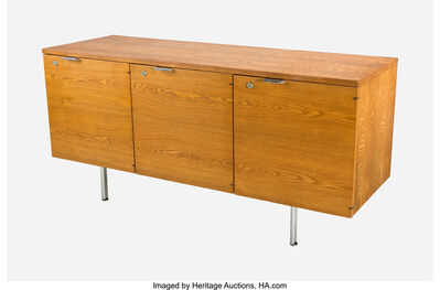 George Nelson, 'Thin Edge Three-Door Credenza', circa 1955
