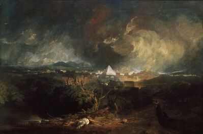 J. M. W. Turner, 'The Fifth Plague of Egypt', 1800