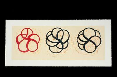 Craig Kauffman, 'Untitled, Red Black, Black', 1999