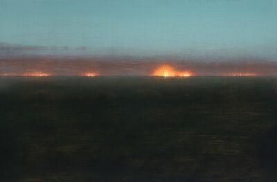 Stephen Hannock, 'Mediterranean Nocturne with Approaching Fog', 1999