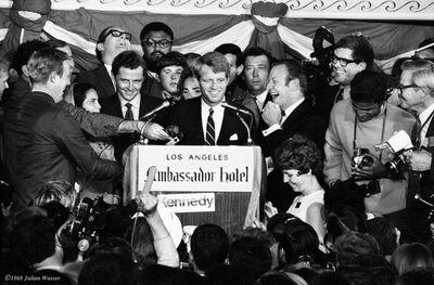 Julian Wasser, 'Robert F. Kennedy, Ambassador Hotel'
