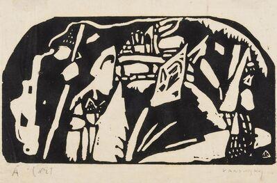 Wassily Kandinsky, 'Holzchnitt für Den Sturm (Roethel 80)', 1910