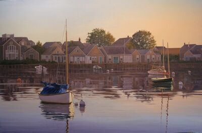 Sergio Roffo, 'Harborfront, Old North Wharf', 2013