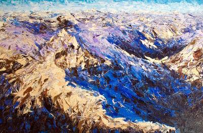 Holly Zandbergen, 'Sunrise Over the Darran Mountains', 2017