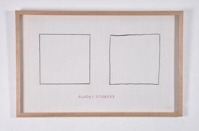 Jaroslaw Kozlowski, 'Modal Drawing (Almost Squares)', 1975
