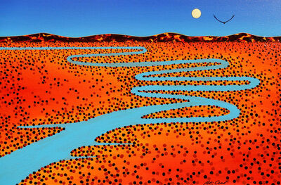 Peter Coad, 'Aerial Study - Cooper Creek 1'