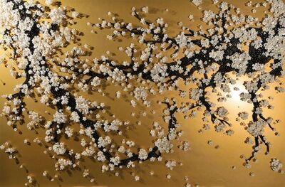Ran Hwang, 'Gold Blossom', 2015