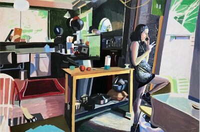 Chelsea Gibson, 'Jessica in my Kitchen in July', 2019