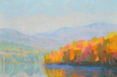 Brian Kiernan, 'Fringed in Autumn, Reflection Pond', ca. 2016