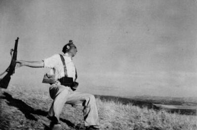 Robert Capa, 'Death of a loyalist militiaman. Córdoba front, Spain. ', 1936
