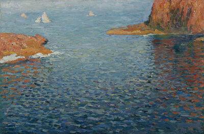 Henri Martin, 'Calanques aux environs de Marseille', Unknown