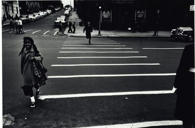 Louis Draper, 'Crosswalk, New York', ca. 1962
