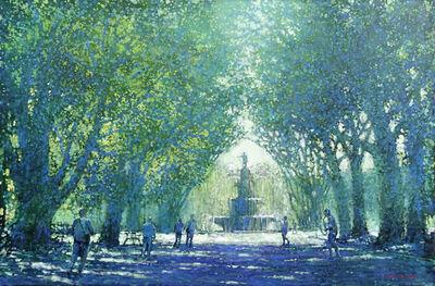David Hinchliffe, 'Hyde Park Fountain', 2018