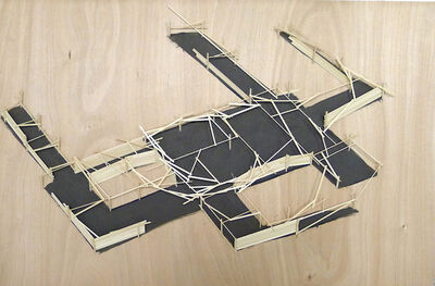 Tadashi Kawamata, 'Site Plan 17A', 2012