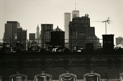 Frank Paulin, 'New York City, Twin Towers', 1982