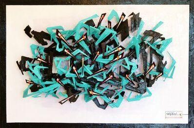 Pierre-Luc Déziel, 'Folded territories', 2013