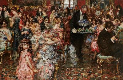 Vincenzo Irolli, 'The Reception', ca. 1920