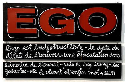 Ben Vautier, 'EGO...', 2020