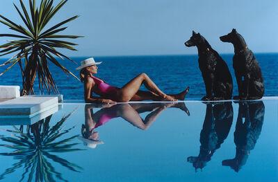 Slim Aarons, 'Marbella Pool', 1985