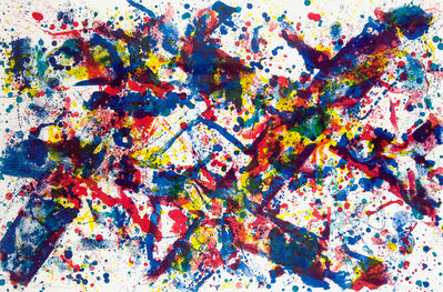 Sam Francis, 'Doubled Cross', 1973