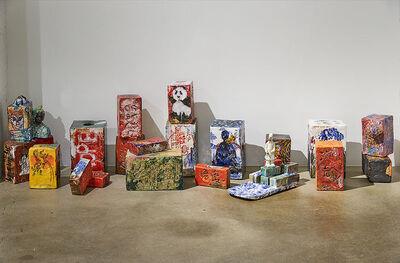 Wanxin Zhang, 'Bricks from Wall series', 2006-2017