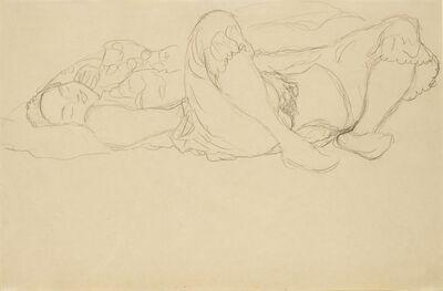 Gustav Klimt, 'Masturbating Girl ', ca. 1916