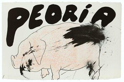 Jim Dine, 'Peoria', 1970