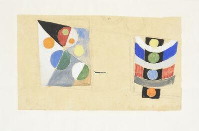 Robert Delaunay, 'Étude Pour Le Pavillon Des Chemins De Fer', 1936-1937