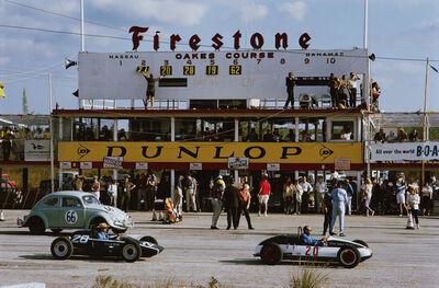Slim Aarons, 'Nassau Speed Week', 1963