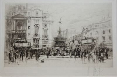 William Walcot, 'Piccadilly Circus', 1920-1930