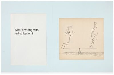Marijn Van Kreij, 'Untitled (Redistribution, Wolfgang Tillmans, Saul Steinberg)', 2015