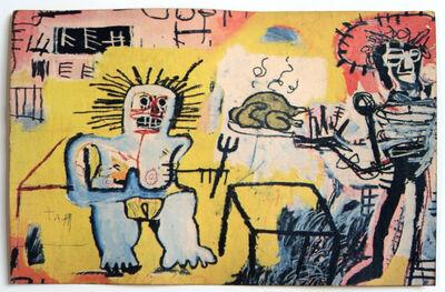 Jean-Michel Basquiat, 'Jean-Michel Basquiat at Annina Nosei Gallery, BEARING A SIGNATURE', 1982