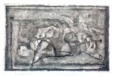 Enzo Brunori, 'Lying Figures', 1965