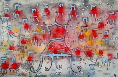 Carlos Vivar, 'La silla reina', 2017