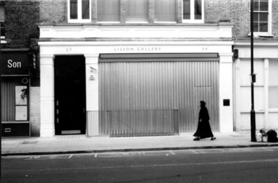 Santiago Sierra, 'Space Closed by corrugated metal, Lisson Gallery, London', 2002