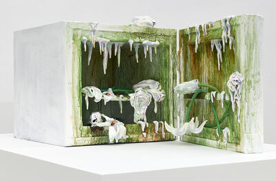 Valerie Hegarty, 'Covid Mini-Fridge (The Covid Diaries Series)', 2021