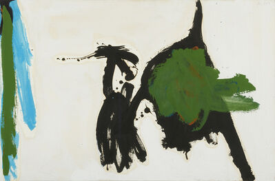 Robert Motherwell, 'Two Figures with Green Stripe', 1960-1964