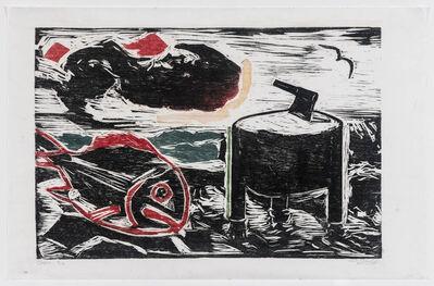 Oswaldo Goeldi, 'Cepo', ca. 1955