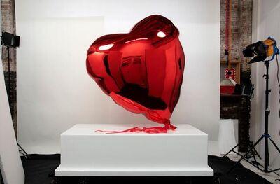Mr. Brainwash, 'Giant Heart Balloon', 2021