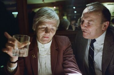 Doug DuBois, 'My Mother and Father at the Bar, London', 1990