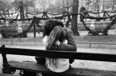 Edouard Boubat, 'Les Amoureux de Paris I', 1980