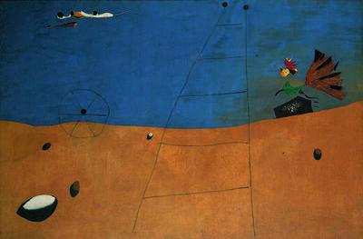 Joan Miró, 'Paysage (Paysage au coq) (Landscape, Landscape with Rooster)', 1927