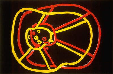 Joan Jonas, 'Double Wheel', 1982