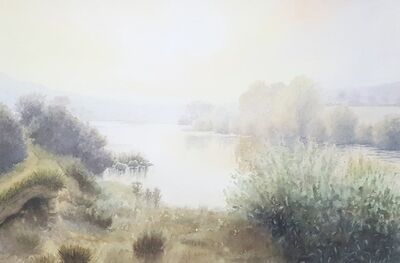 Gillie Cawthorne, 'River Tyne Between Hexham and Corbridge', 1998