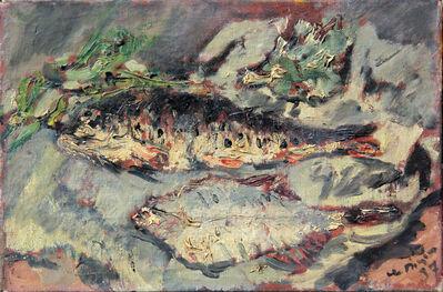 Filippo De Pisis, 'Natura morta con pesci', 1937