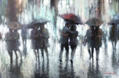 David Hinchliffe, 'Red Umbrella', 2019