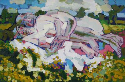 Bruno Bobak, 'Figures in a Landscape', ca. 1967