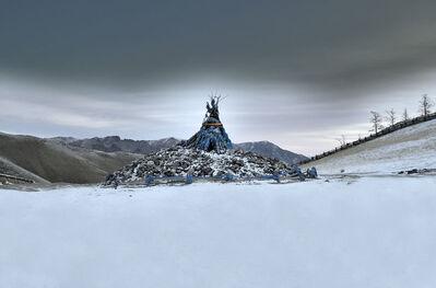 """Marc Progin, '""""The Bridge"""" [Huvsgul, Mongolia]', 2014"""